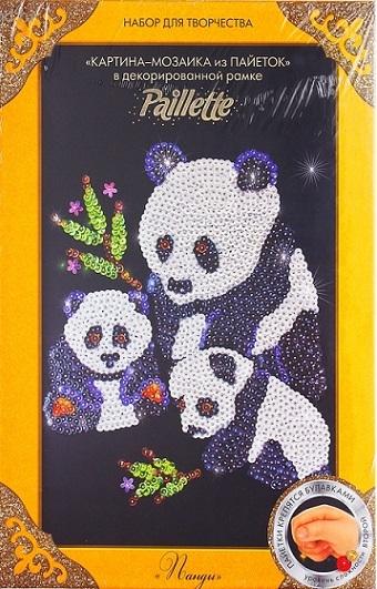 """Мозаика из пайеток """"Панда"""""""