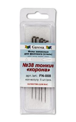 """Иглы для валяния (фелтинга) запасные № 038 тонкие """"Корона""""/feyamagazin.ru"""