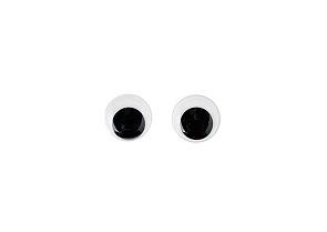 Глаза бегающие для игрушек диаметр 7 мм