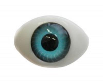 Глаза для кукол голубые 14х18 мм
