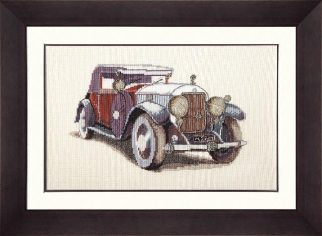Набор для вышивания М-95 Авто Skoda 1933