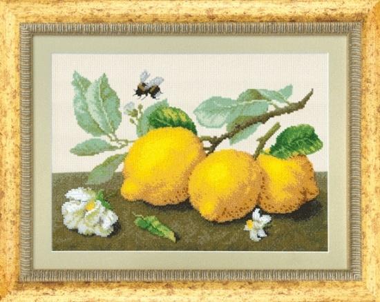 """Набор для выш. крестом """"Чаривна Мить"""" М №104 Лимонная сиеста 31*22 смешанная техника"""