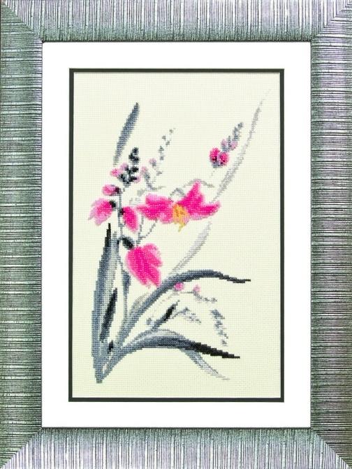 """Набор для выш. крестом """"Чаривна Мить"""" М №113 Аленький цветочек 19*30 смешанная техника (мулине + бисер)"""
