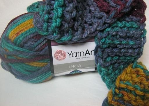 Inca - толстая пряжа для ручного вязания/feyamagazin.ru