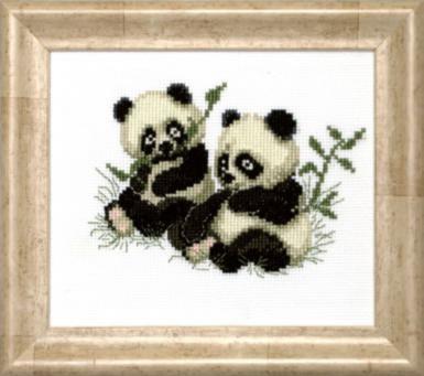 Набор для вышивки крестиком М-149 (А043) Панды