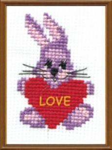 Набор для вышивки крестиком №120 С любовью