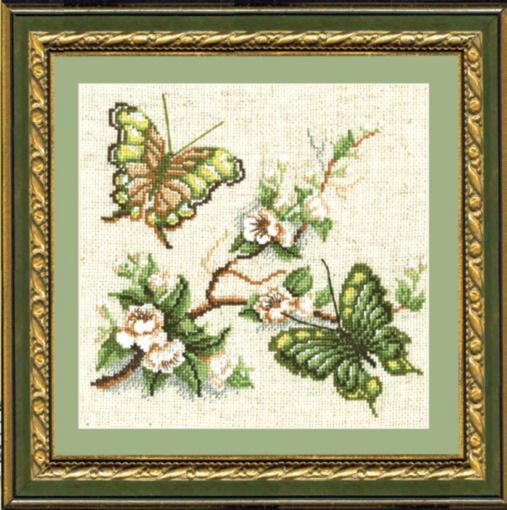 Набор для вышивки крестиком №191 Аромат сада