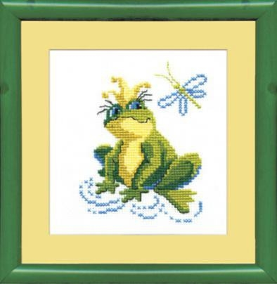Набор для вышивки крестиком №203 Царевна лягушка