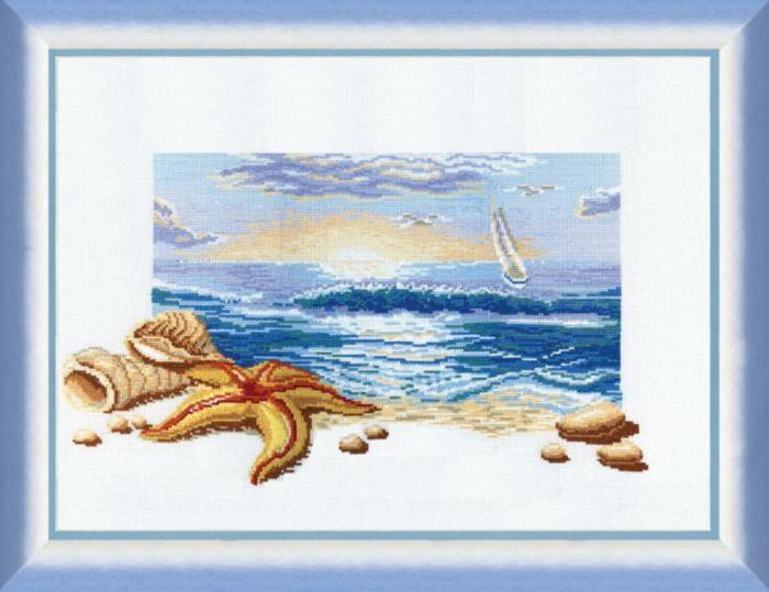 Набор для вышивки крестиком №210 Морской рассвет