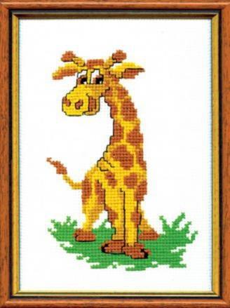 """Набор для вышивания крестом """"Чаривна Мить"""" № 233 Жираф 15*22"""