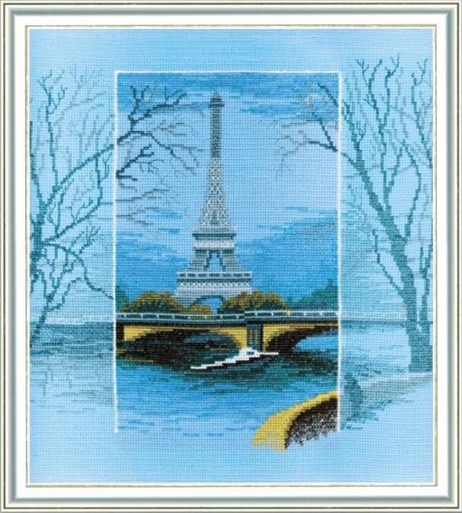 """Набор для вышивания крестом """"Чаривна Мить"""" № 286 Увидеть Париж 26,5*28"""