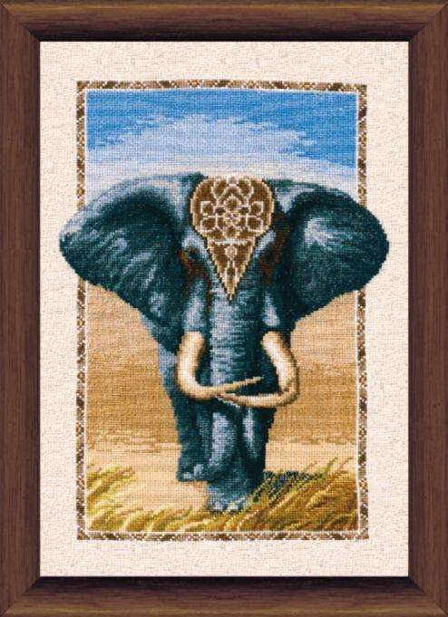 """Набор для вышивания крестом """"Чаривна Мить"""" № 289 Слон 26*39"""