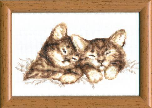 Набор для вышивки крестиком №296 Котята