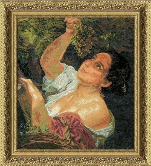 абор для вышивки крестиком №299 По мотивам К. Брюллова Итальянский полдень