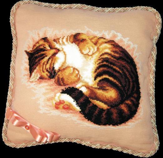 Набор для вышивки подушки крестиком №332 Сладкий сон