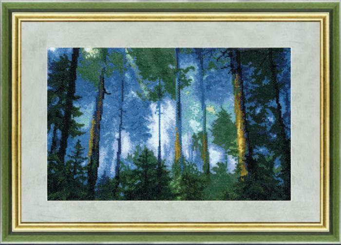 """Набор для вышивания крестом """"Чаривна Мить"""" № 334 Сосновый лес 34,5*22,5"""
