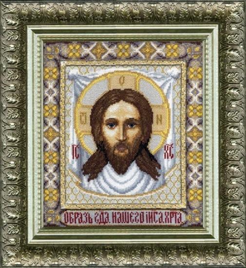 Набор для вышивки крестиком №335 Икона Господа Иисуса Христа
