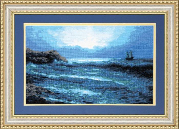 Набор для вышивки крестиком №380 Синее море