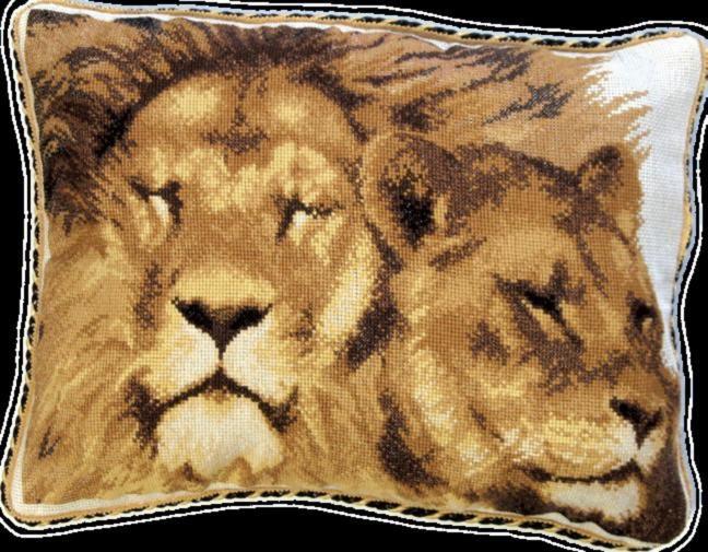 Набор для вышивки подушки крестиком №410