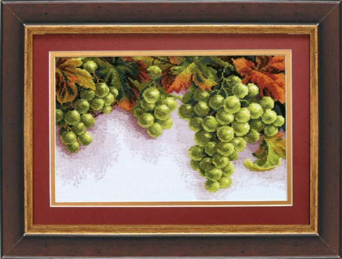 Набор для вышивки крестиком №445 Грозди винограда