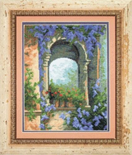 Набор для вышивки крестиком №457 Цветочная арка