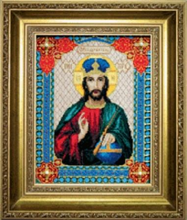 Набор для вышивки крестиком №467 Икона Господа Иисуса Христа