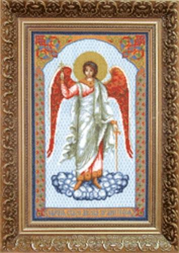 """Набор для вышивания крестом """"Чаривна Мить"""" № 482 икона Ангел Хранитель 22,5*37"""
