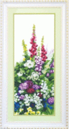 """Набор для вышивания крестом """"Чаривна Мить"""" № 520 Наперстянка 2ч. 20*50"""