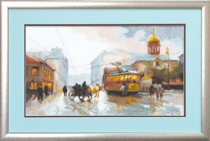 """Набор для вышивания крестом """"Чаривна Мить"""" № 577 Вечерний трамвай 42*24"""