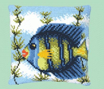 Подушка РТ-110 набор для изготовления подушки 40*40 Рыбка