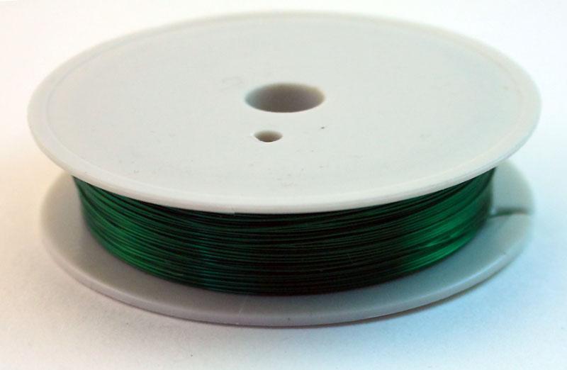 Проволока для бисероплетения, 0.4 мм, 50 м, feyamagazin.ru