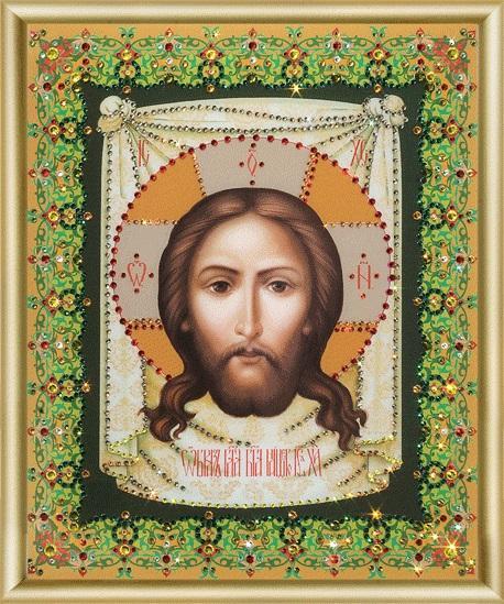 Набор картина стразами КС-052 Образ Господа Нашего Иисуса Христа/feyamagazin.ru