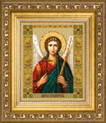 Набор картина стразами Икона Ангела Хранителя