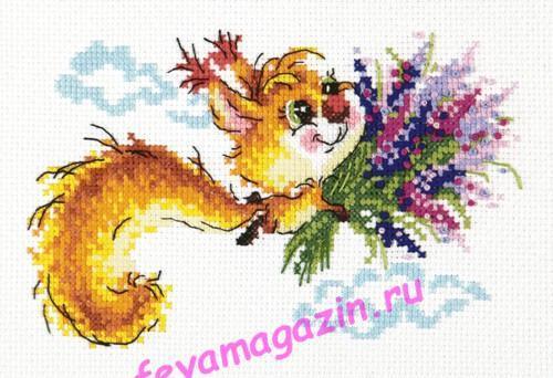 Чудесная игла 26-22 Лечу к тебе! 17*11/feyamagazin.ru