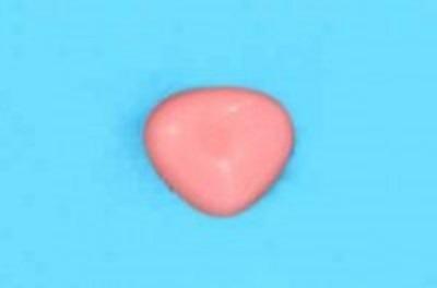 Нос для игрушек на ножке 11х9 мм розовый