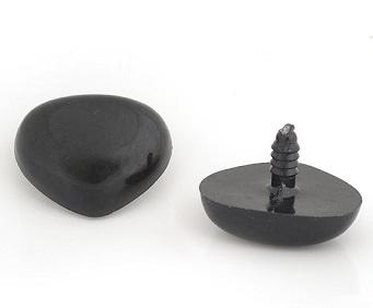 Нос винтовой, чёрный, 35х25 мм