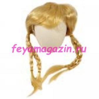 Волосы для кукол (косички)блонд