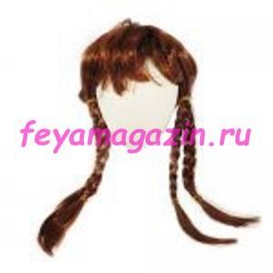 Волосы для кукол (косички) рыжие