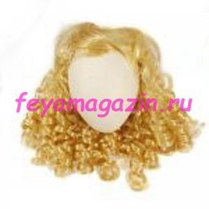 Волосы для кукол (локоны) блонд
