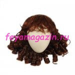 Волосы для кукол (локоны) рыжие