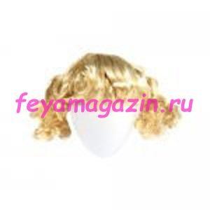 Волосы для кукол (хвостик) блонд