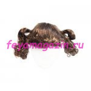 Волосы для кукол (хвостик) каштан