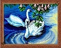 Пара лебедей (набор для вышивания крестом)