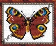 Павлиний глаз (бабочка) (набор для вышивания крестом)