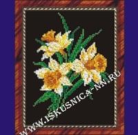 Нарциссы (набор для вышивания крестом)