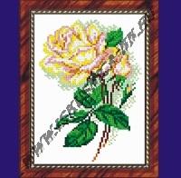 Чайная роза (набор для вышивания крестом)