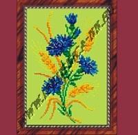 Васильки (набор для вышивания крестом)