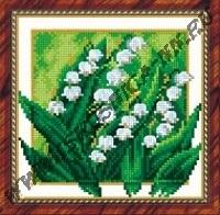 Ландыши (набор для вышивания крестом)