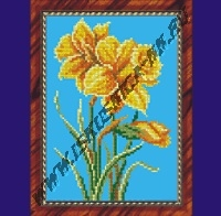 Желтые нарциссы (набор для вышивания крестом)