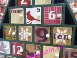 Деревянный адвент календарь «Новогодняя ёлка»_2